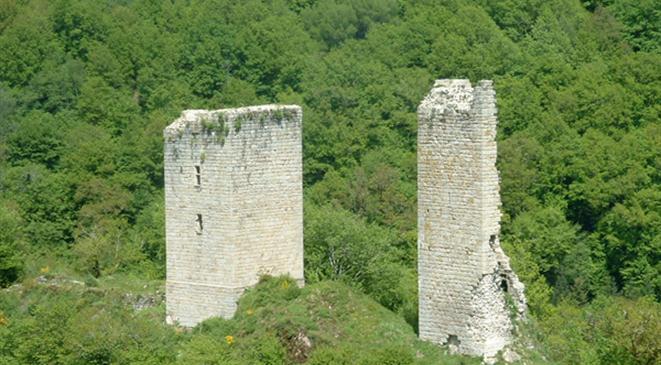 les tours de Carbonnières - Goulles