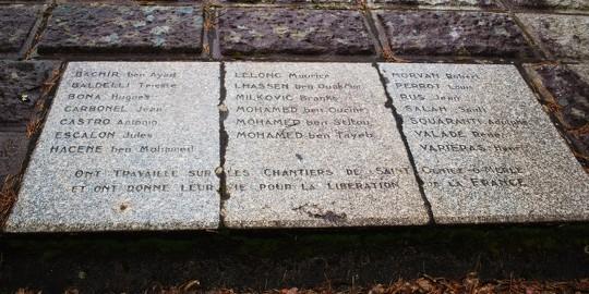 mémorial plaque usine Merle